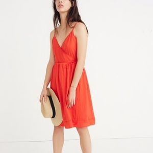 NWT Madewell Sicily Coverup Wrap Dress